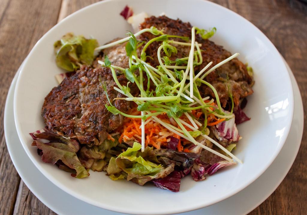 Brno Restaurants - SKØG Urban Hub Vegan Dish Cabbage Rolls