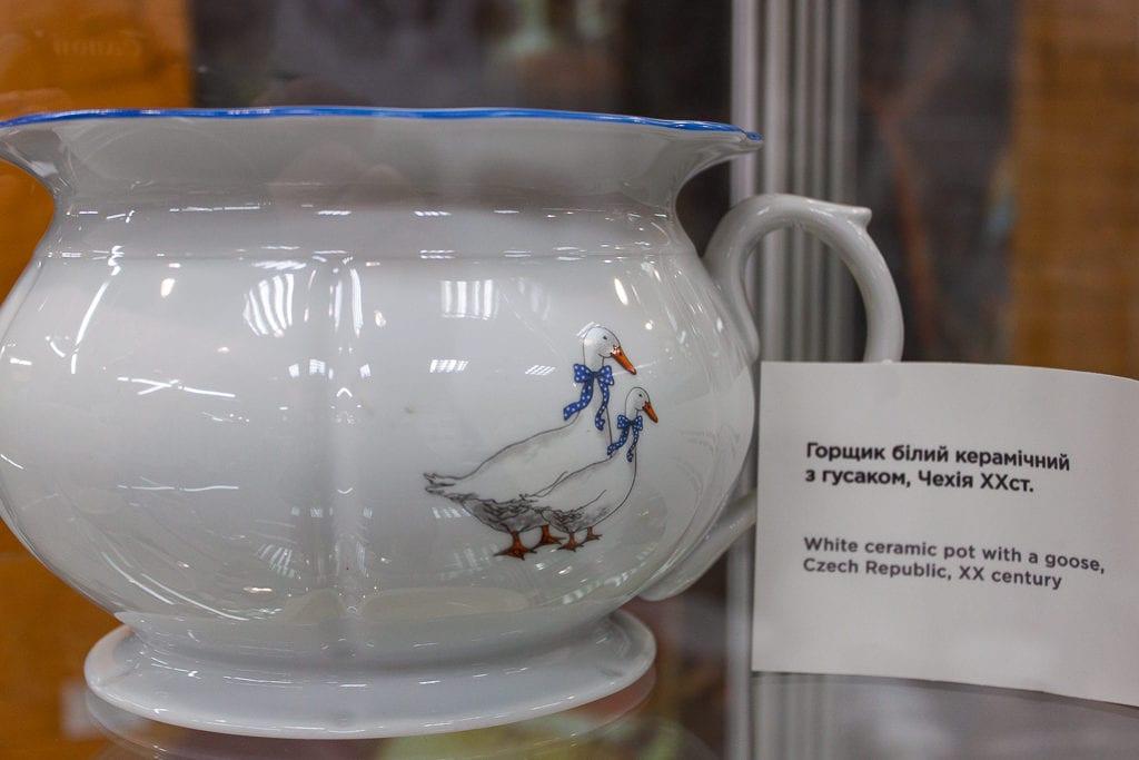 Museum Of Toilet History - Chamber Pot Czech Republic