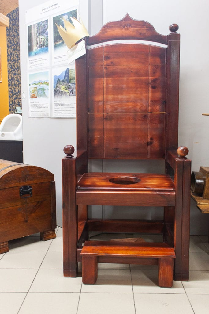 Museum Of Toilet History - Royal Toilet