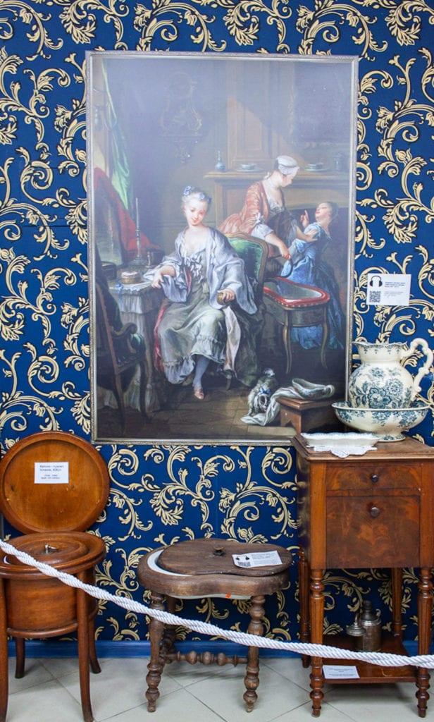 Museum Of Toilet History - Royal Toiletries
