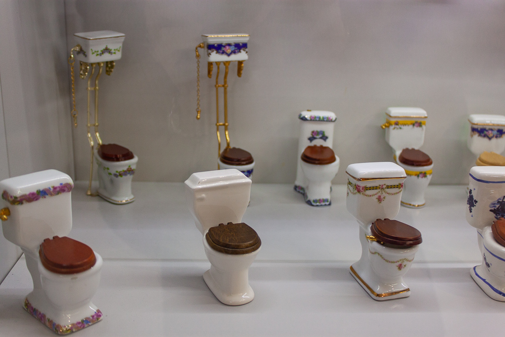 Museum Of Toilet History - Tiny Toilet Souvenirs