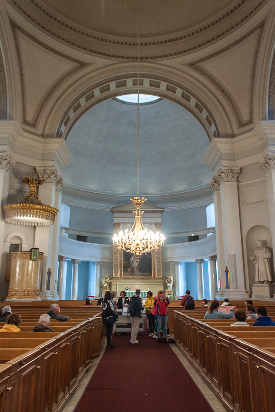 What To Do in Helsinki - Inside Helsinki Cathedral