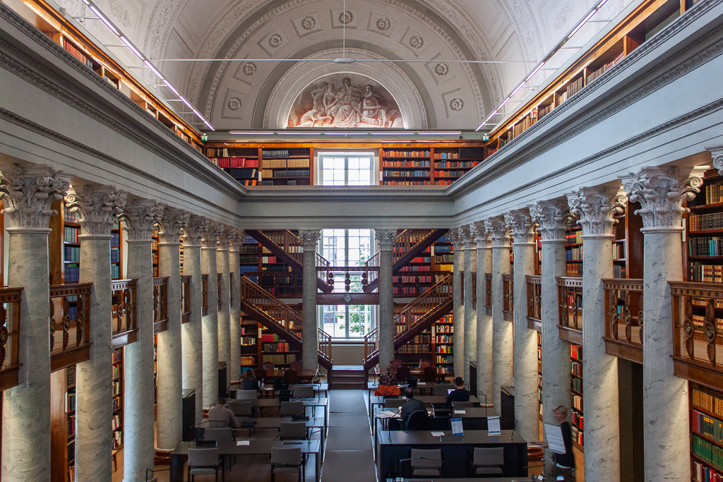 What To Do in Helsinki - The National Library of Finland Hall