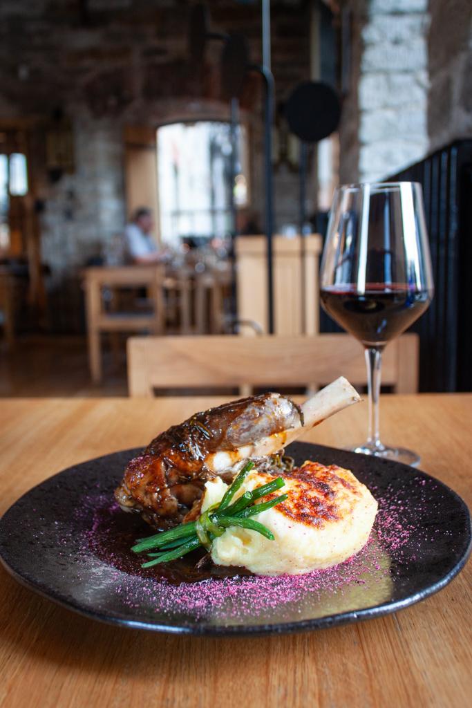 Where To Eat In Tallinn Estonia - Restoran Pull Tallinn Estonia Lamb Shank