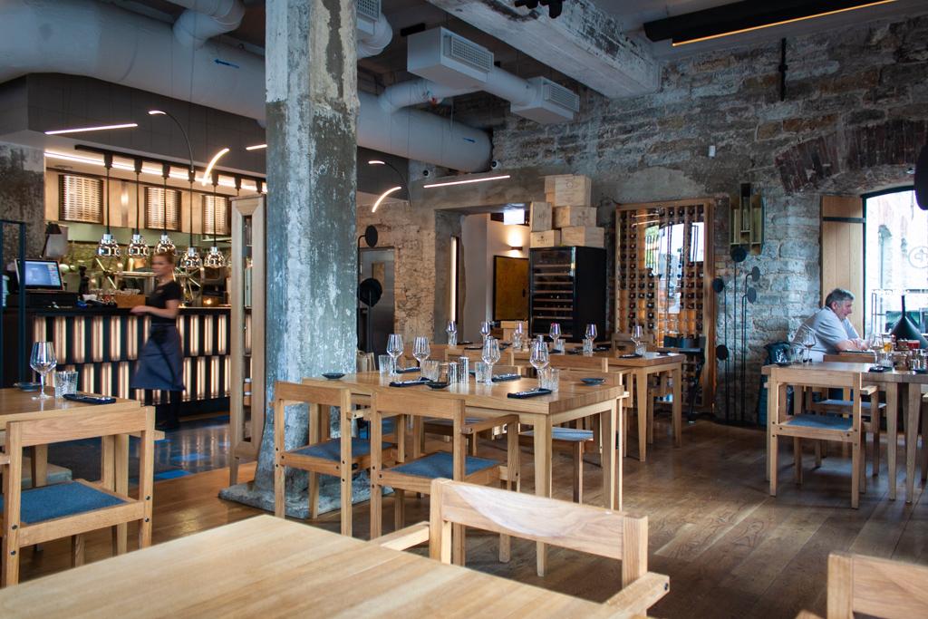 Where To Eat In Tallinn Estonia - Restoran Pull Tallinn Estonia