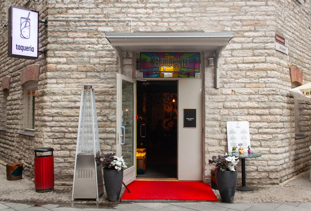 Where To Eat In Tallinn Estonia - Taqueria Entry Tallinn Estonia