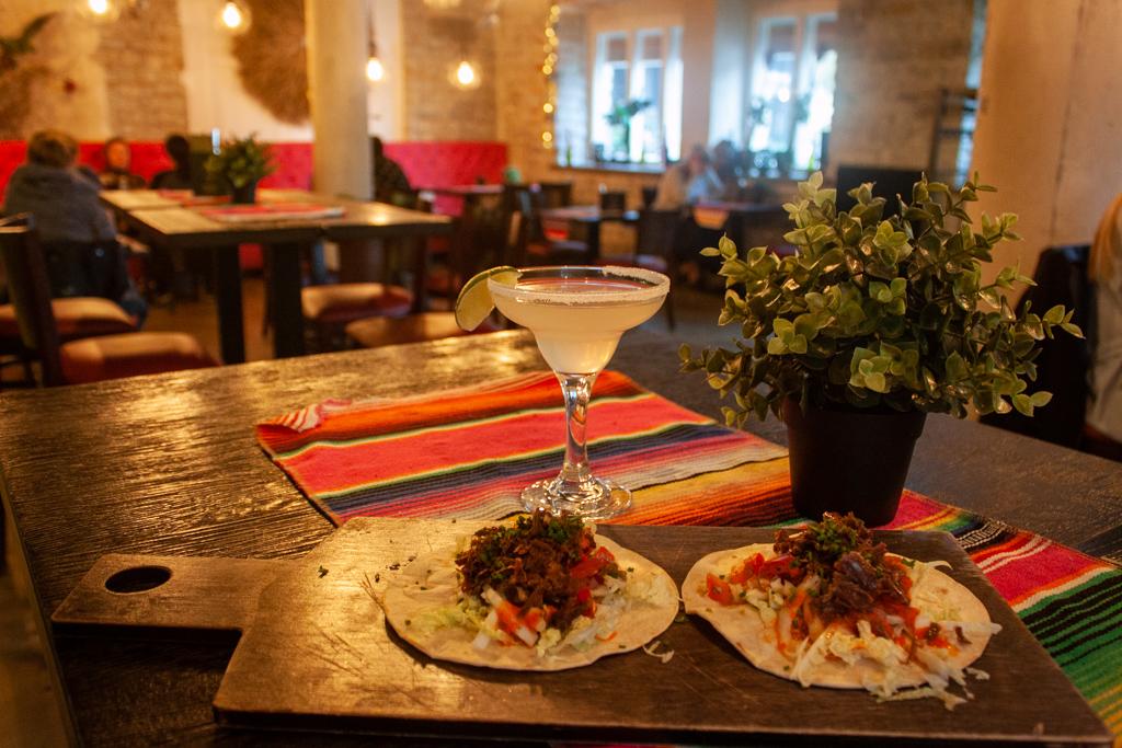 Where To Eat In Tallinn Estonia - Taqueria Tacos and Margarita Tallinn Estonia