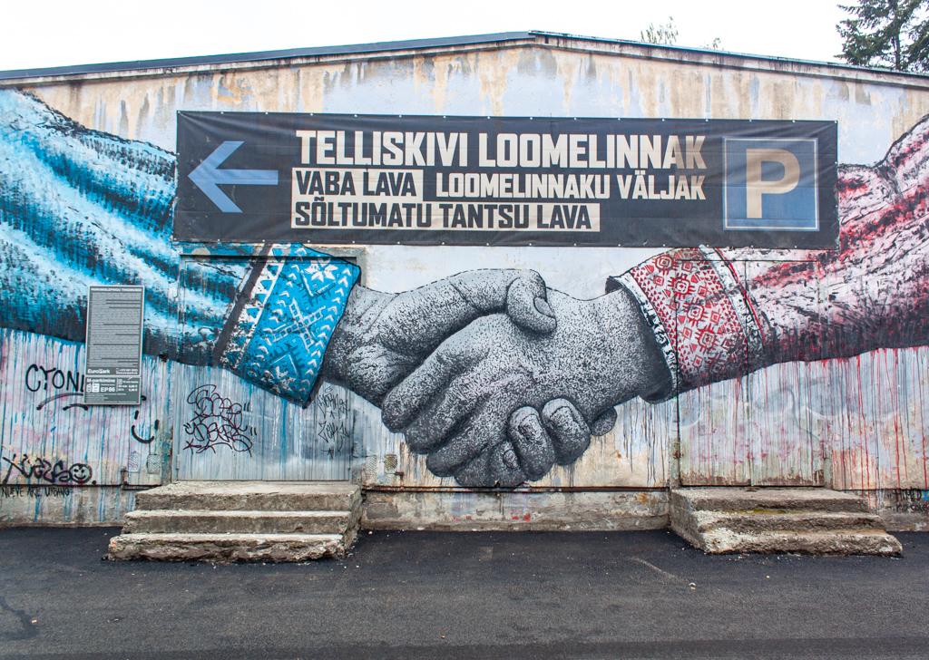 Where To Eat In Tallinn Street Art