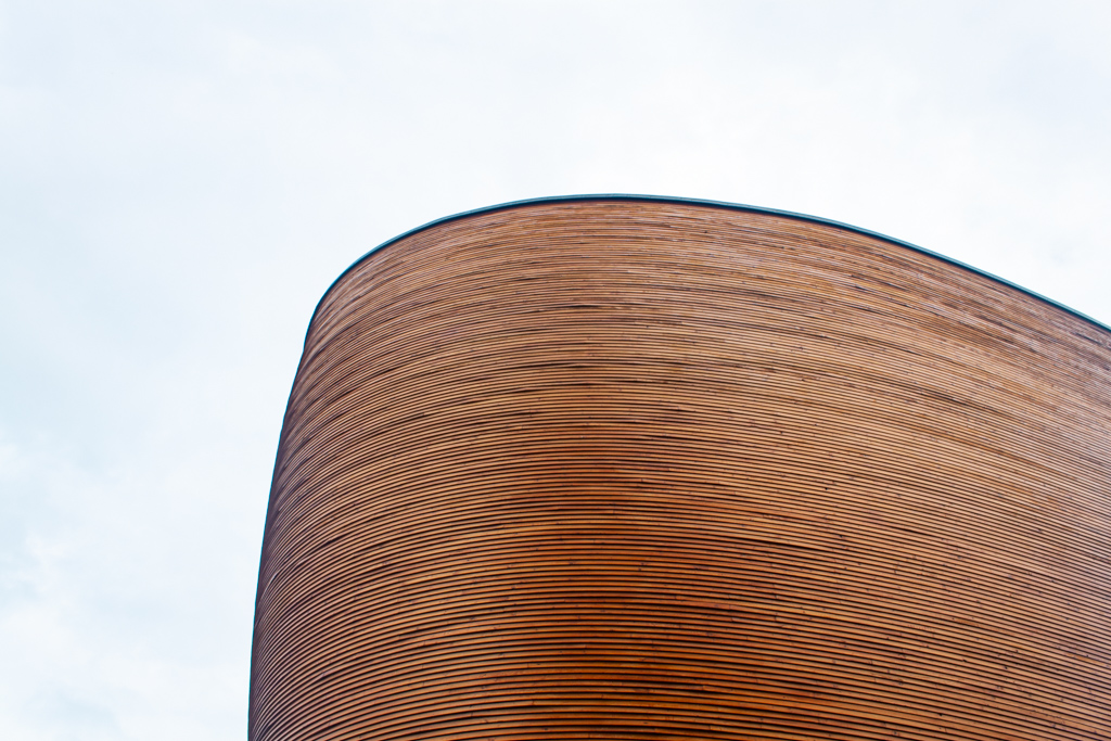 What To Do In Helsinki - Kamppi Chapel Wooden Exterior