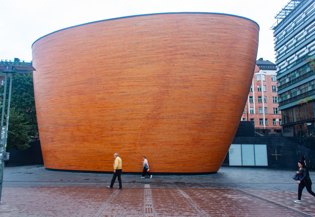 What To Do In Helsinki - Kamppi Chapel