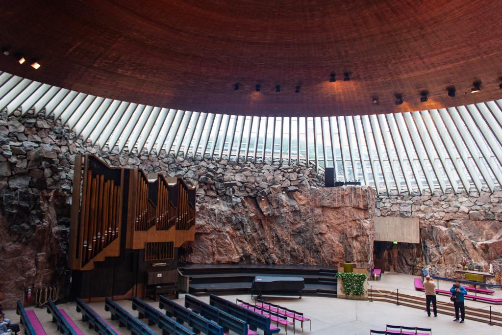 What To Do In Helsinki - Temppeliaukio Church Interior