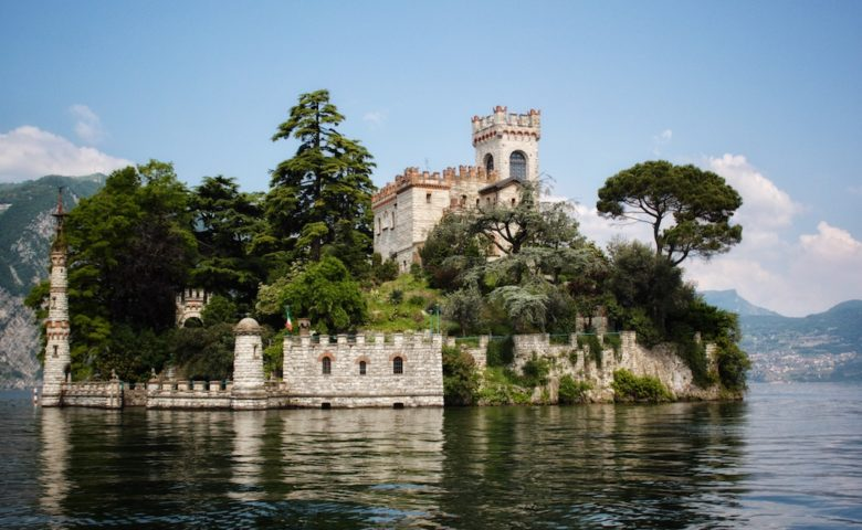 Isola Di Loreto Lake Iseo Italy