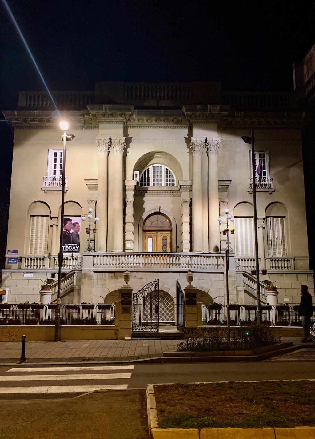 Nikola Tesla Museum Belgrade Serbia Villa