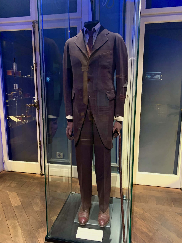 Nikola Tesla Museum Original Suit