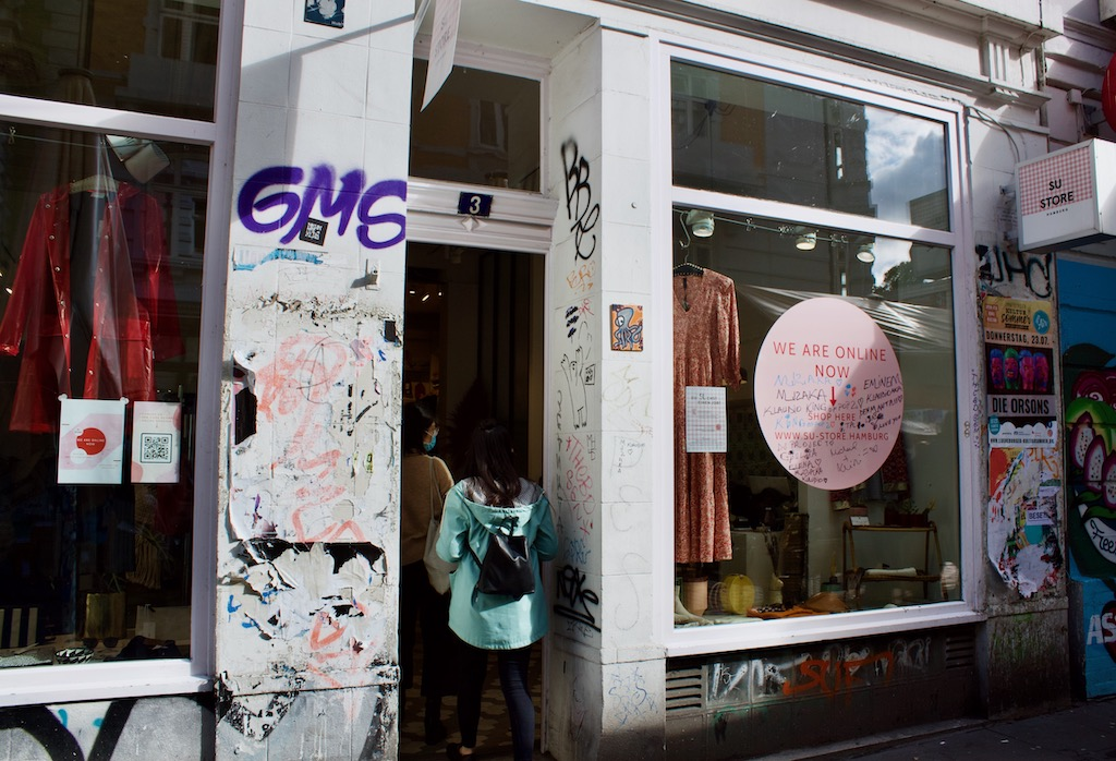 SU - STORE Hamburg Germany Clothing Shop