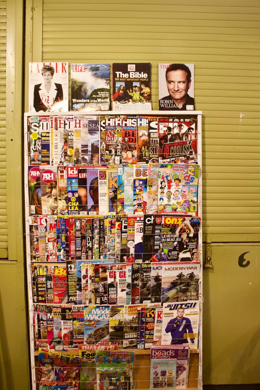 Petrivka Market Kyiv Old Magazines