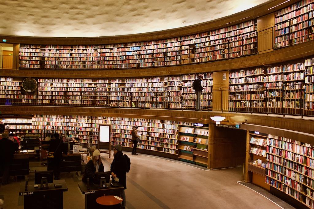 Stockholm Public Library - 2,000,000 Books
