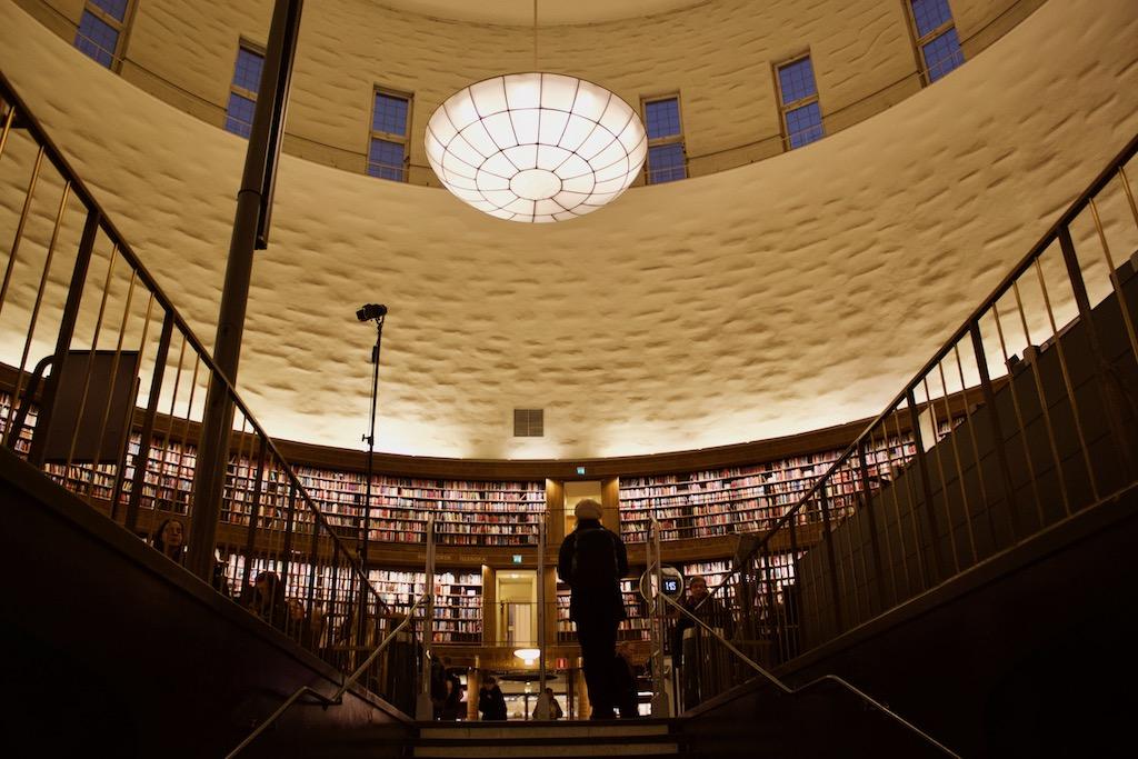 Stockholm Public Library - Interior Views