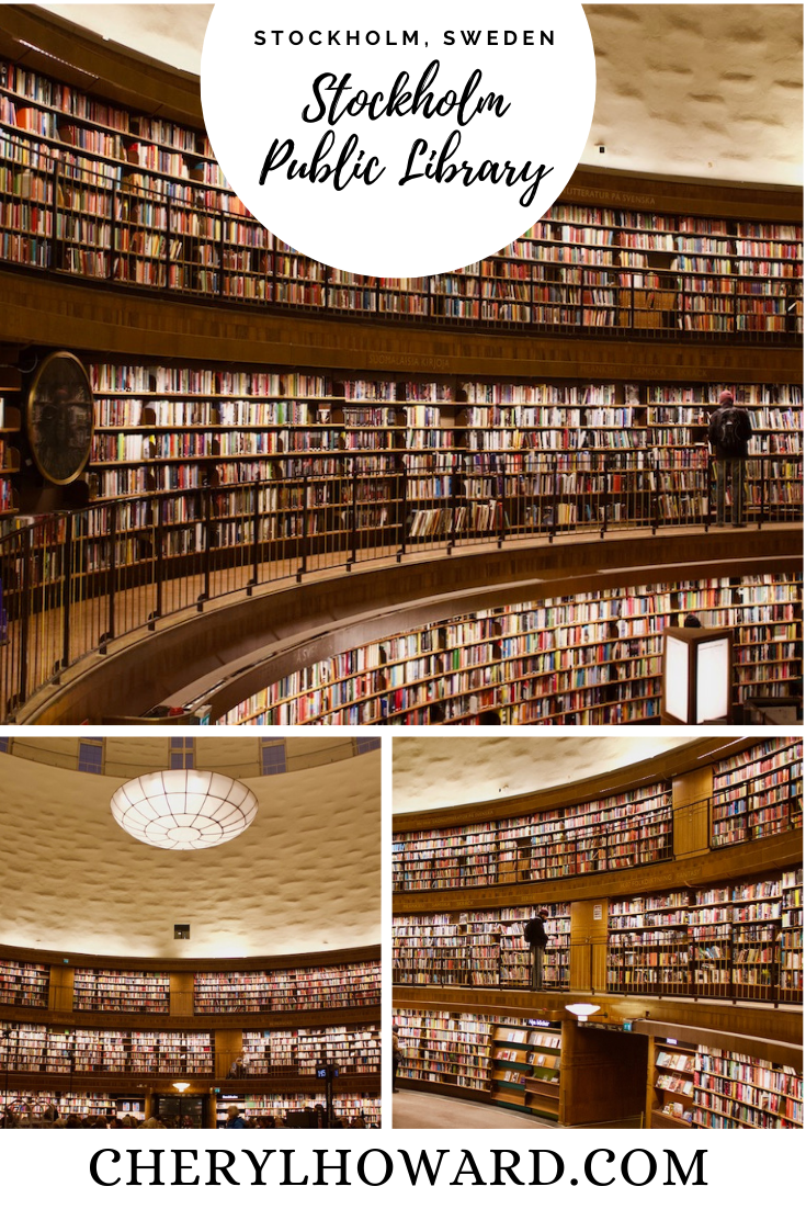 Stockholm Public Library - Pin