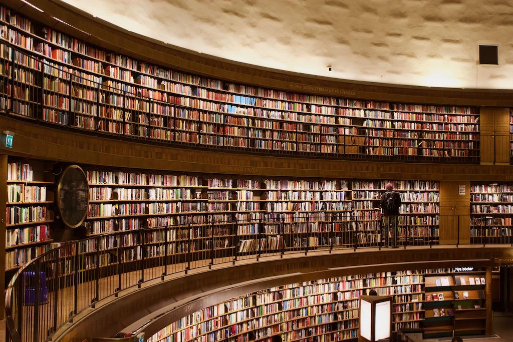 Stockholm Public Library - Rotunda