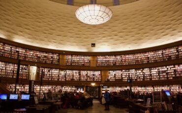 Stockholm Public Library - Stockholm Sweden