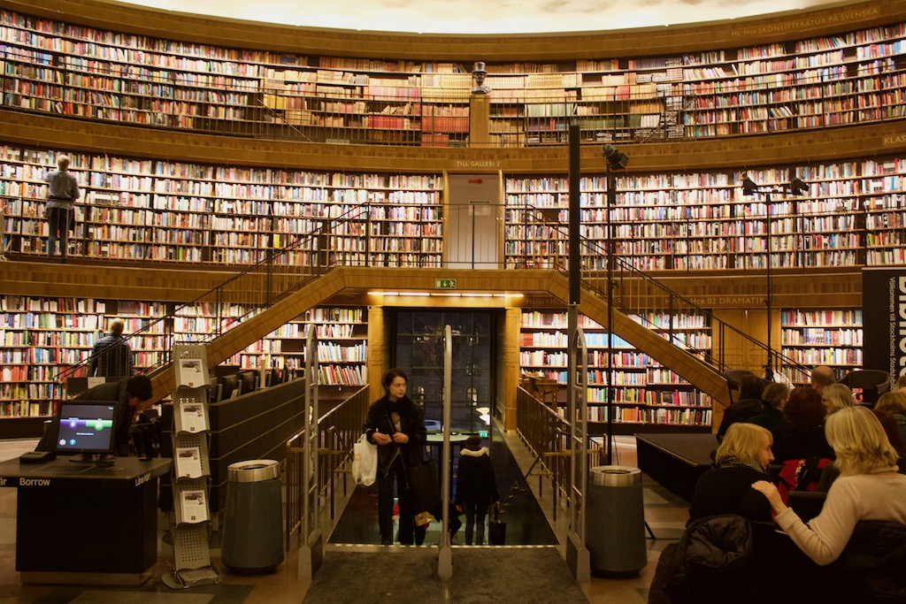 Stockholm Public Library - World's Most Beautiful Libraries