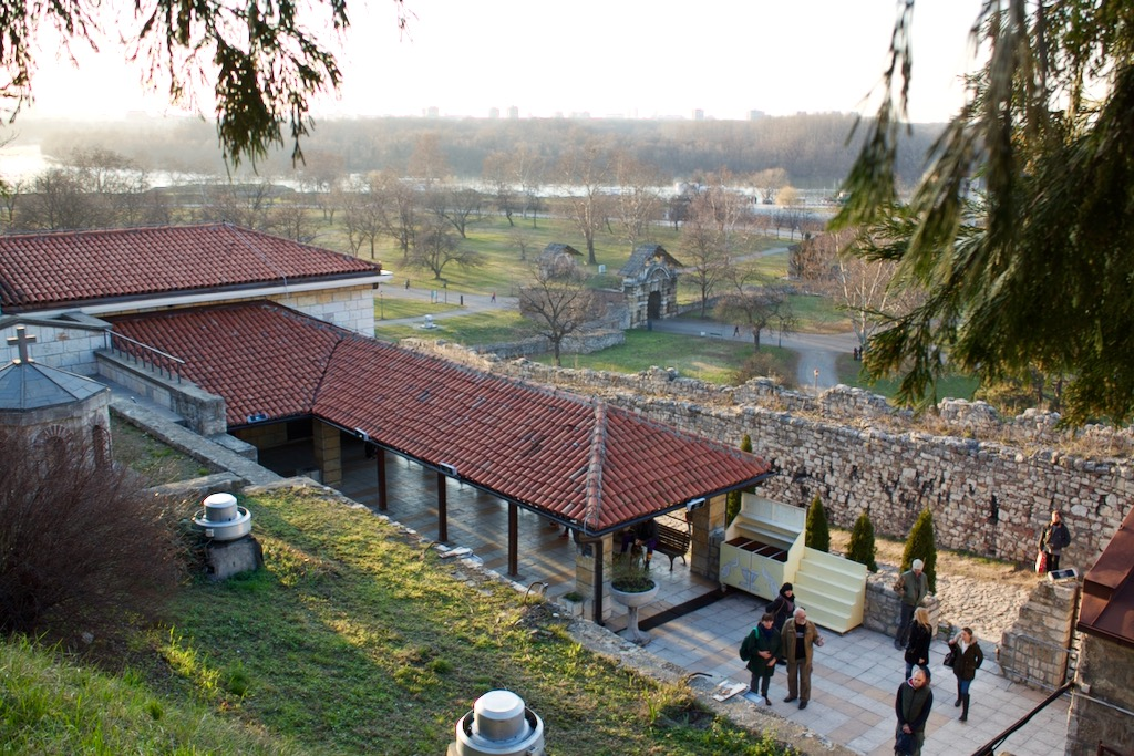 Views from Ružica Church Belgrade