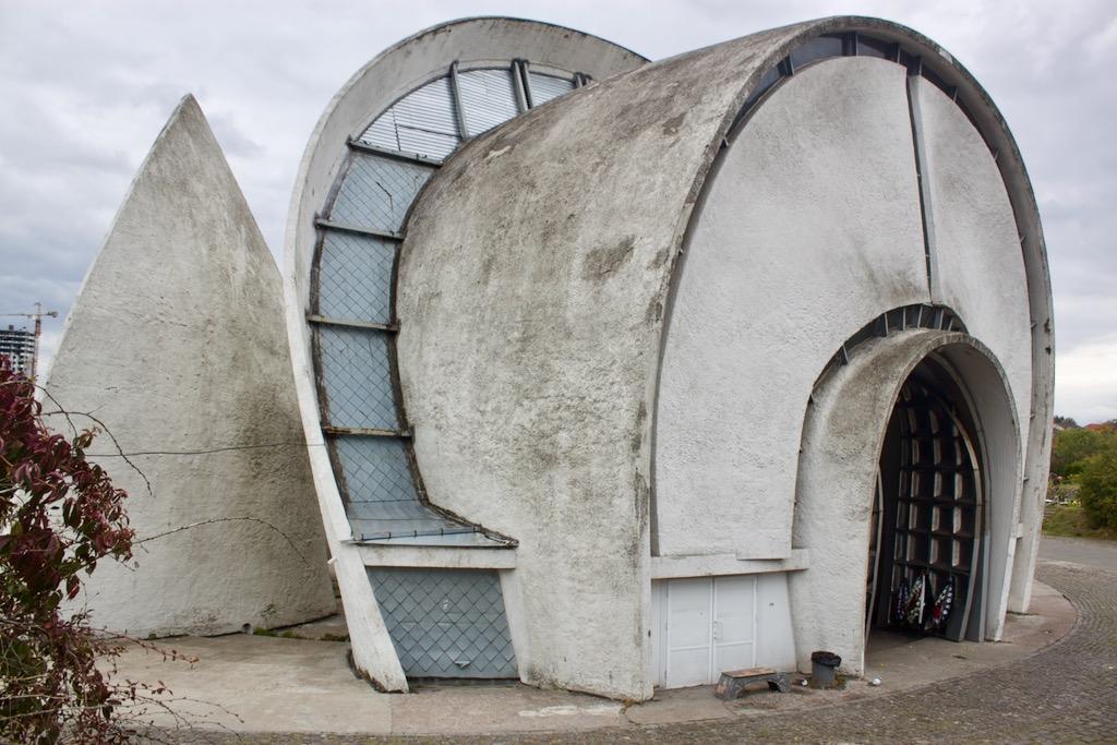Kyiv Crematorium - White Concrete