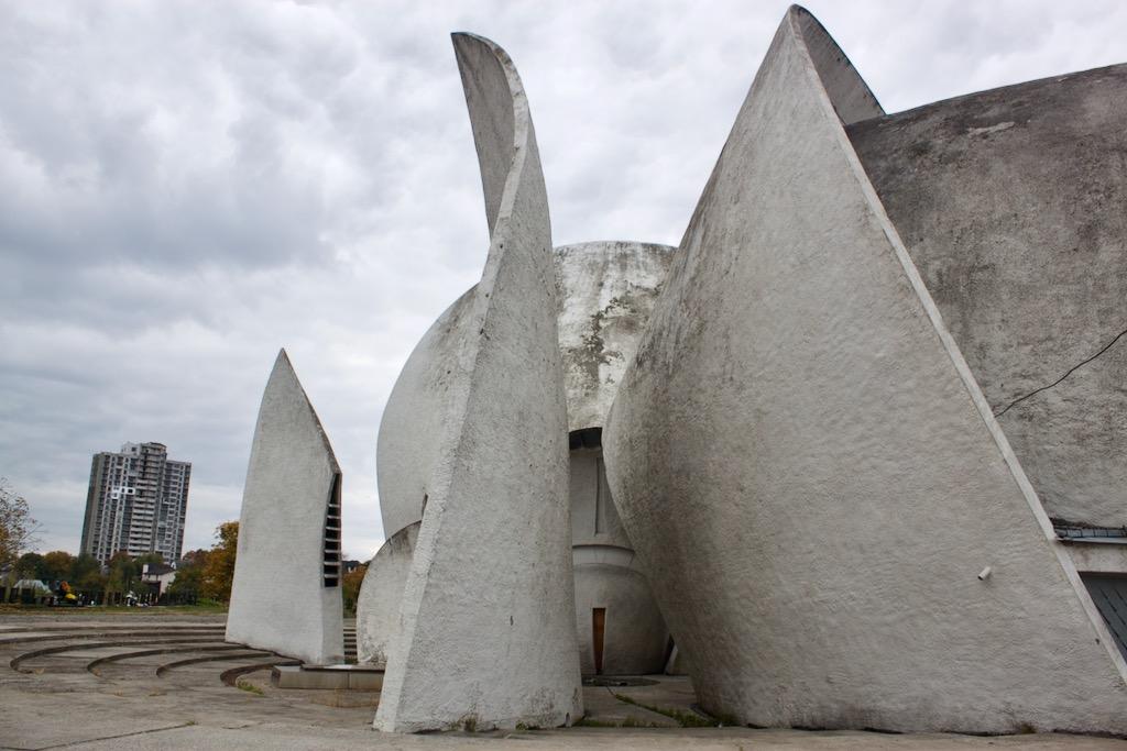 Soviet Era Architecture in Kyiv - Crematorium
