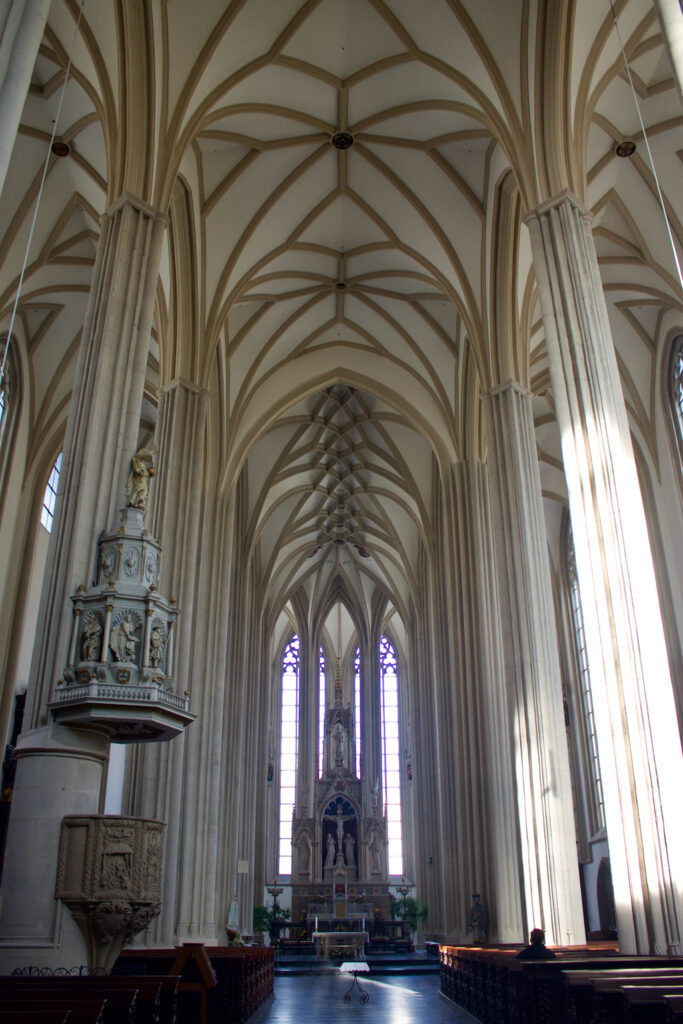 Church of St James Brno Interior