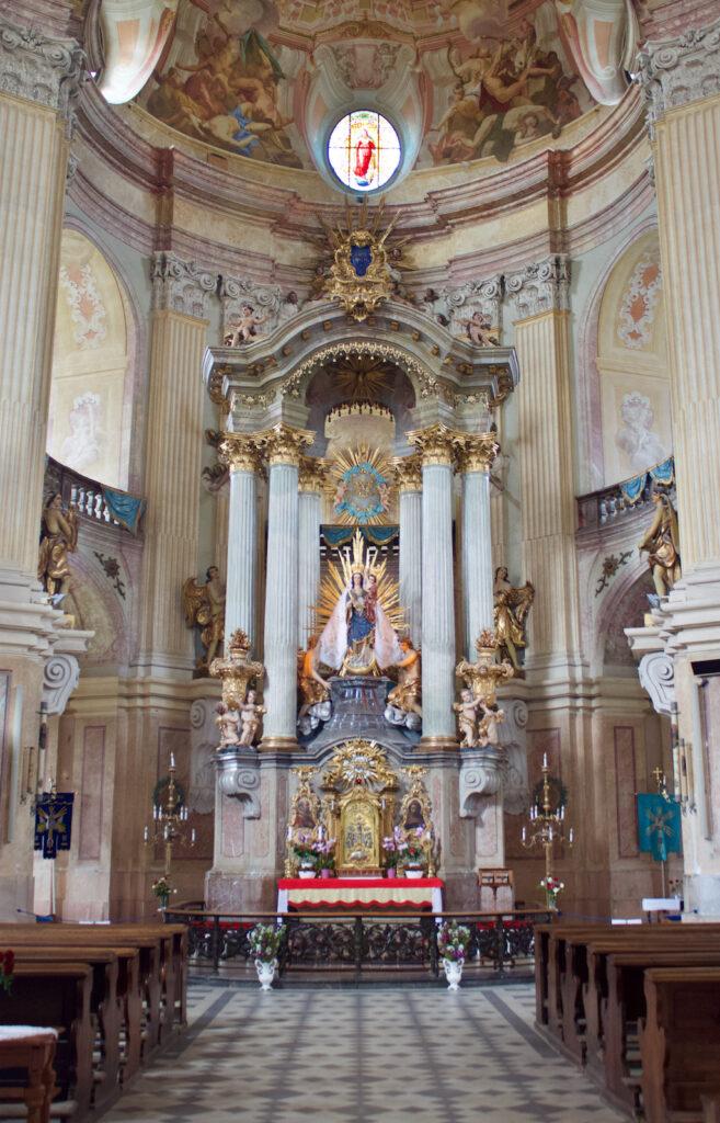 Kostel Jména Panny Marie In Křtiny