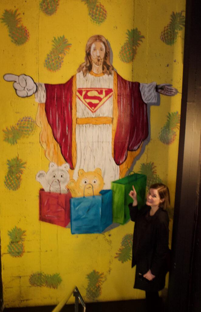 Romanian Kitsch Museum Cheryl Howard With Jesus