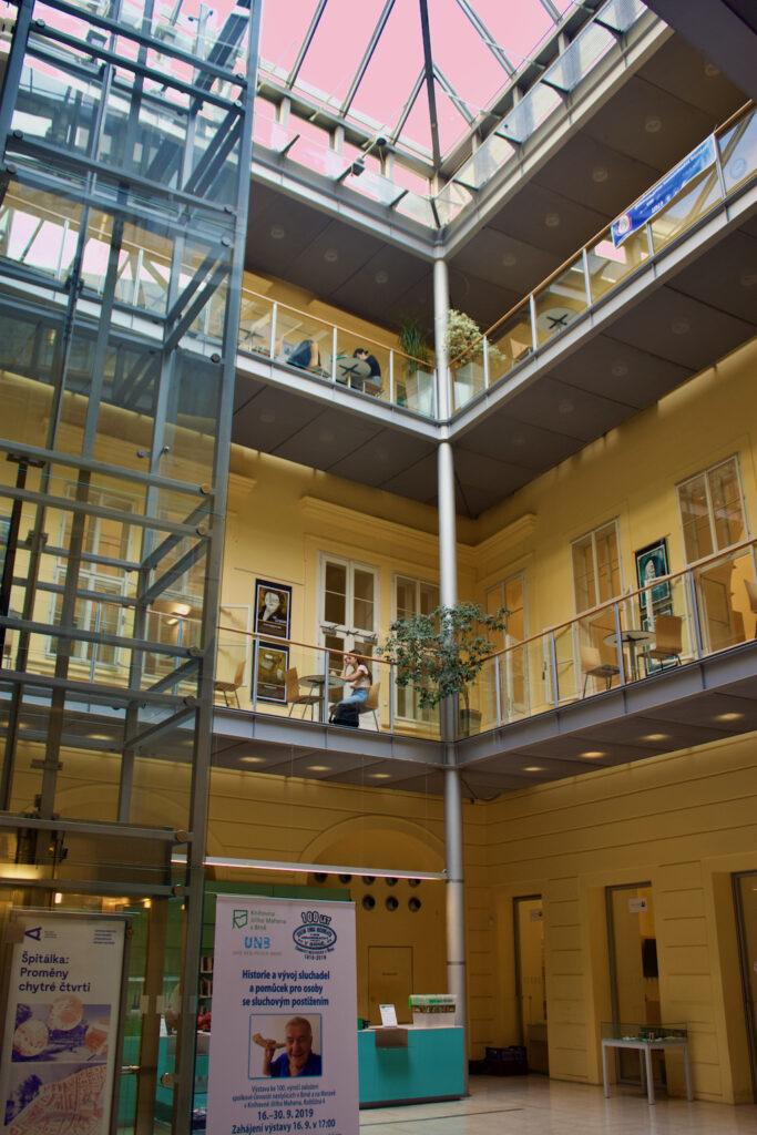 Things To Do In Brno - Jiří Mahen Library.