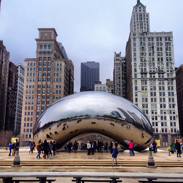 A Weekend in Chicago - The Bean