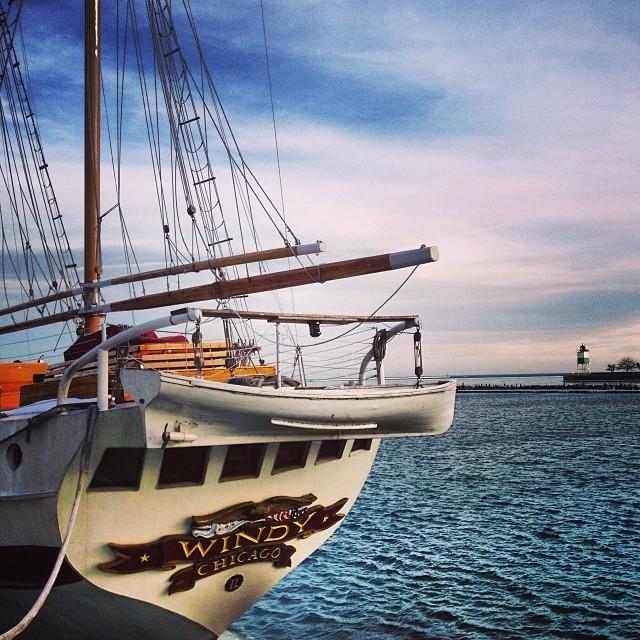 Navy Pier Chicago Winter