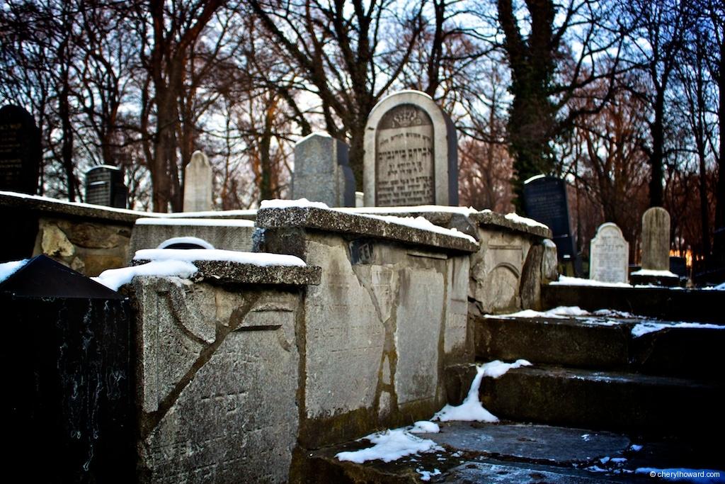 New Jewish Cemetery Krakow Fragments