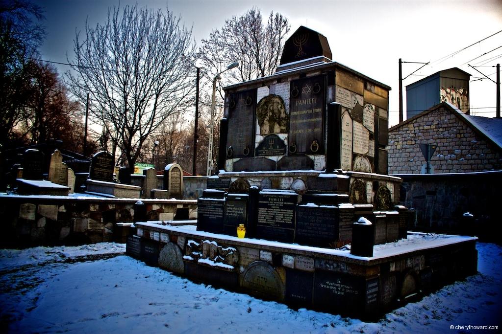 New Jewish Cemetery Krakow Poland Memorial