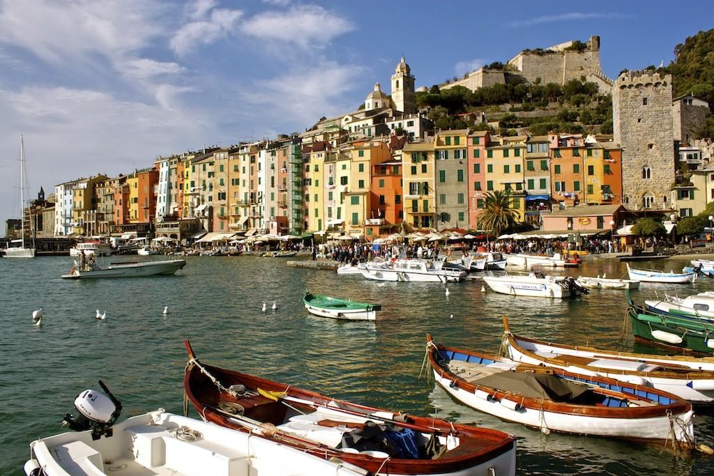 Porto Venere Italy - Colourful Homes By The Sea