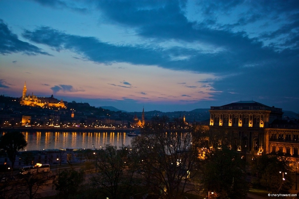 Romantic Places in Europe - Budapest At Dusk