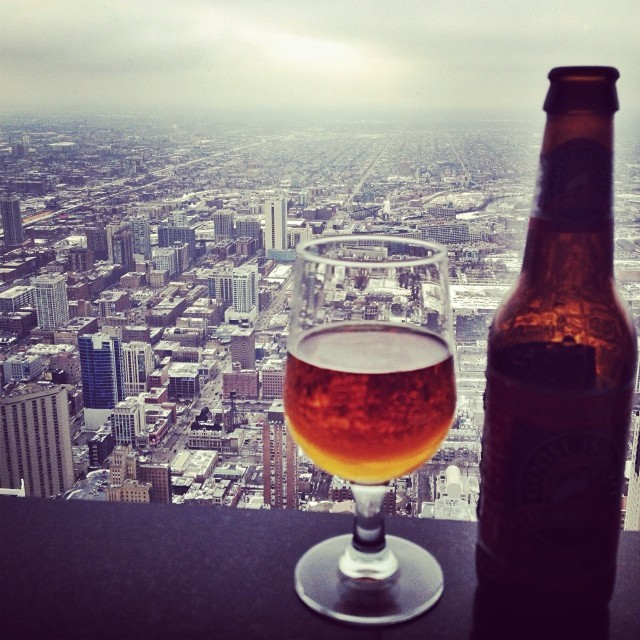 Signature Lounge Chicago - Drink With A View