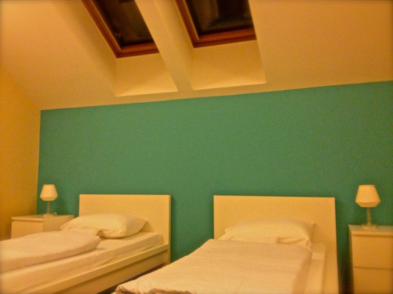 Wombats City Hostel Budapest - Private room with skylight