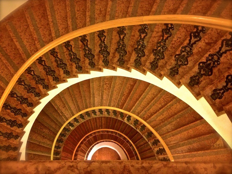 Wombats City Hostel Budapest - Staircase