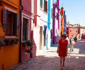 Cheryl Howard In Burano Italy