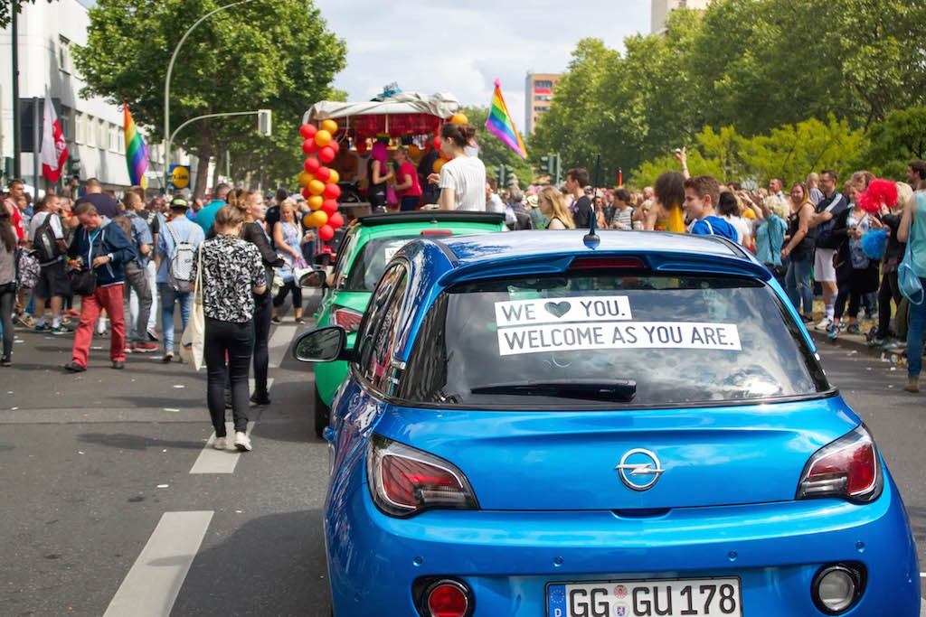 Love and Pride At Berlin's 2015 Christopher Street Day (CSD) - We Love You