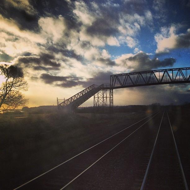 A Winterlude Weekend in Ottawa - Train Journey From Toronto