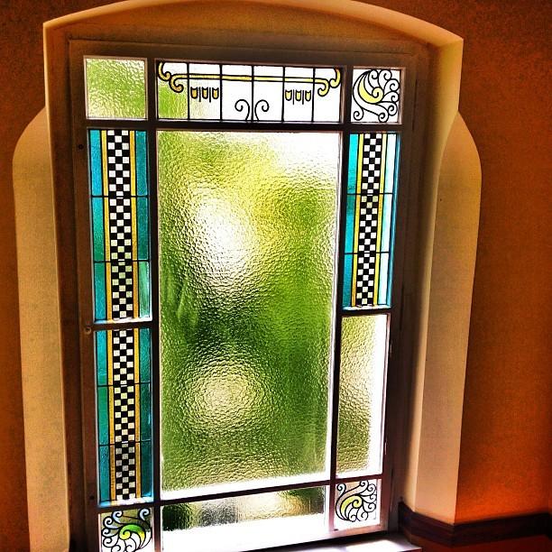 Berlin Stained Glass Window Altbau