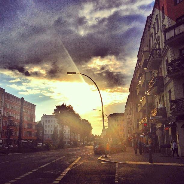 Berlin Sunset Vibing