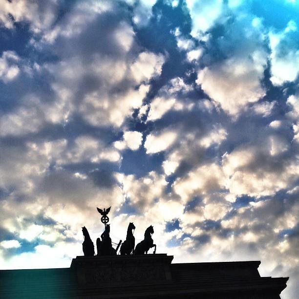 Brandenburger Tor Cloud Porn