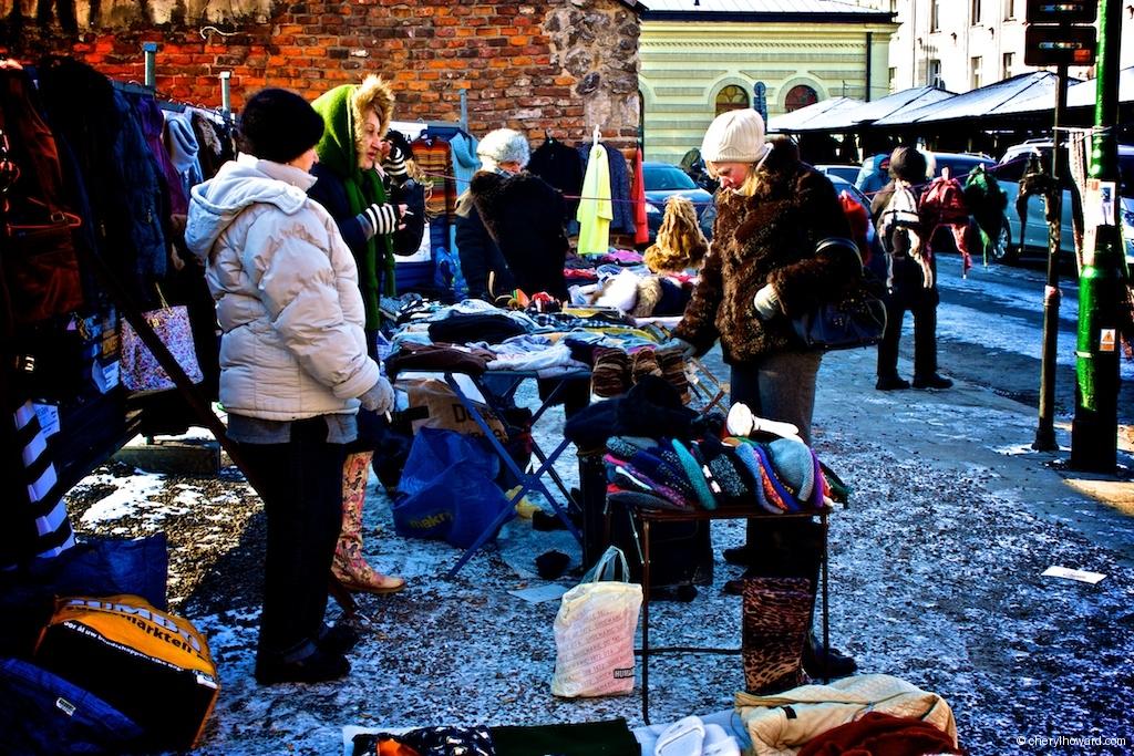 Plac Nowy Jewish Market - Krakow Market Stalls