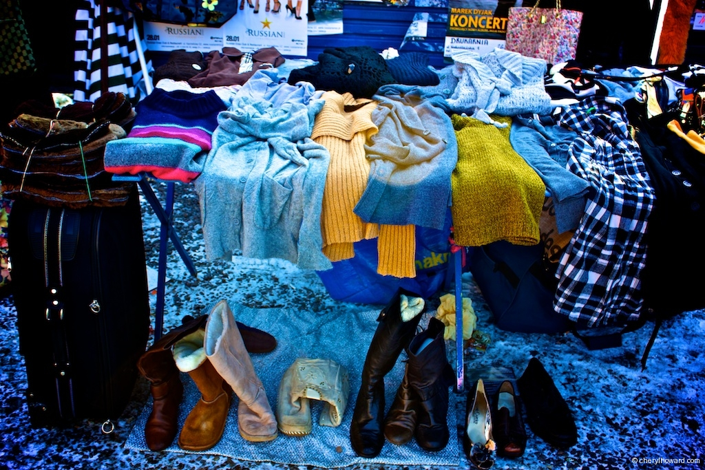 Plac Nowy Jewish Market - Winter Boots